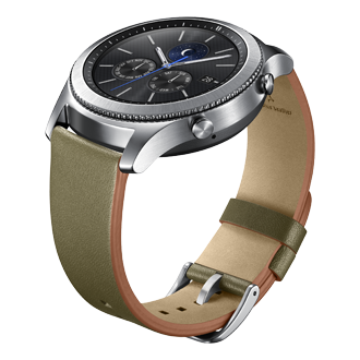 Gear S3 - Classic Leather Band