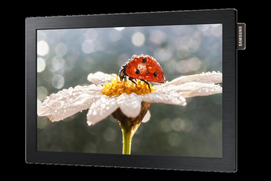 10,1 Professionell LED Monitor DB10E POE R Perspective Black