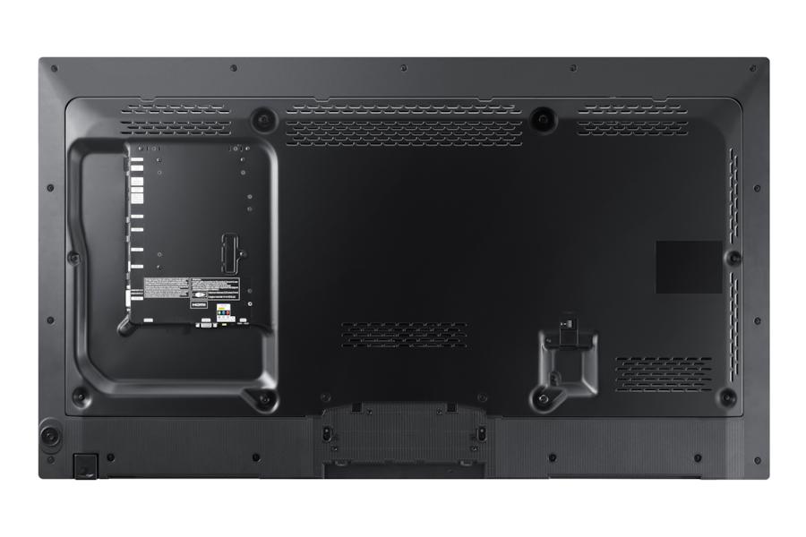 46 LED-skærm PE46C PE46C Bagside Sort