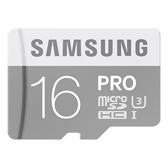 PRO microSD hukommelseskort (SD Adapter)