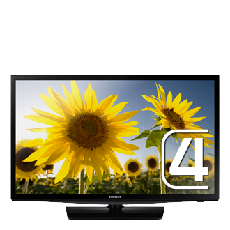 UE24H4004AW 24&quot; HD LED TV H4004<br/>