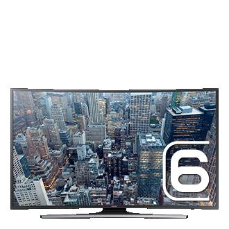 65 UHD 4K Curved Smart TV JU6575