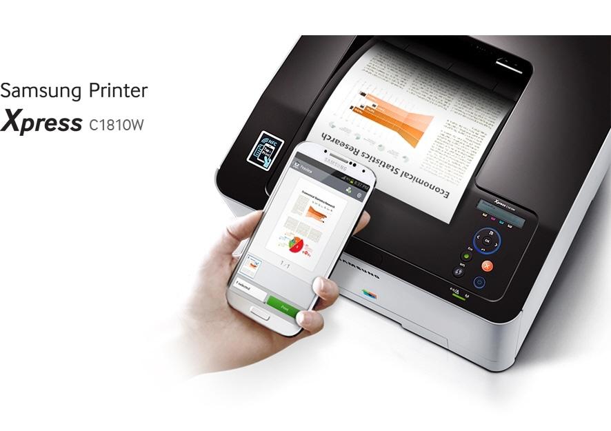 Samsungi printer Xpress C1810W