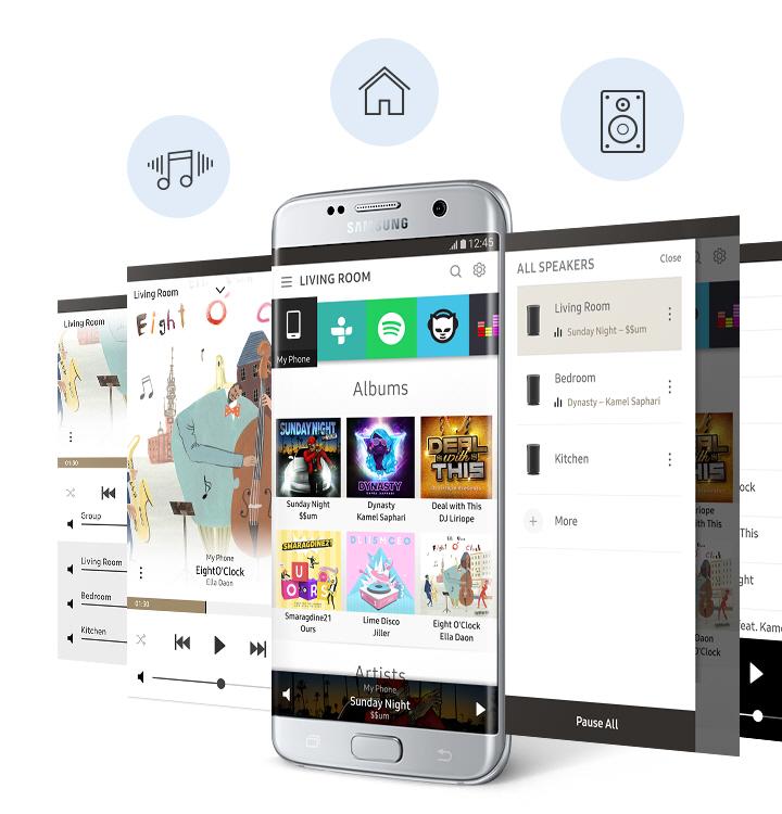 Samsungi Multiroomi rakendus