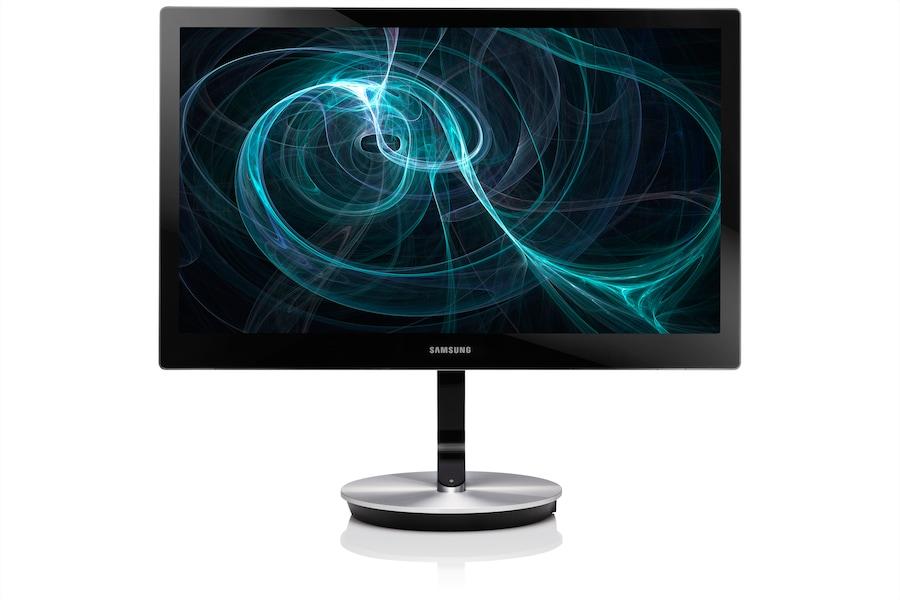 27 professionaalne monitor koos täpse värvide taasesitusega S27B970D Esikülg Must