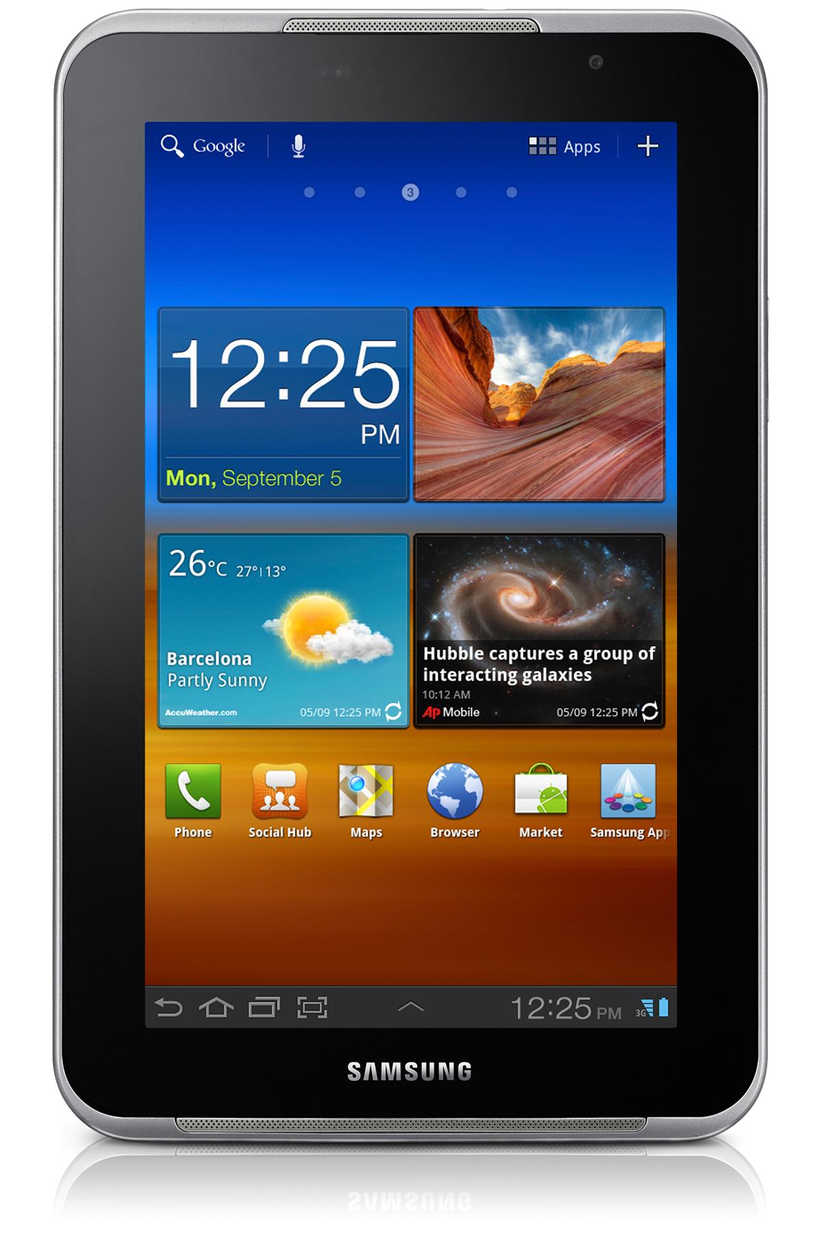 Galaxy Tab Plus (7.0, Wi-Fi)