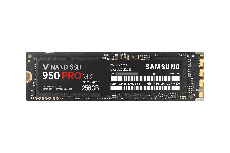 SSD 950 PRO NVME M.2 256GB