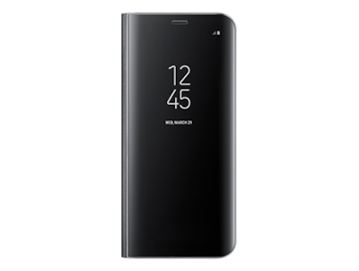 samsung s8 clear view standing cover - funda galaxy s8