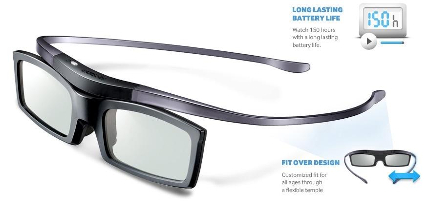 Haz de la experiencia 3D una realidad con las gafas superpuestas de Samsung