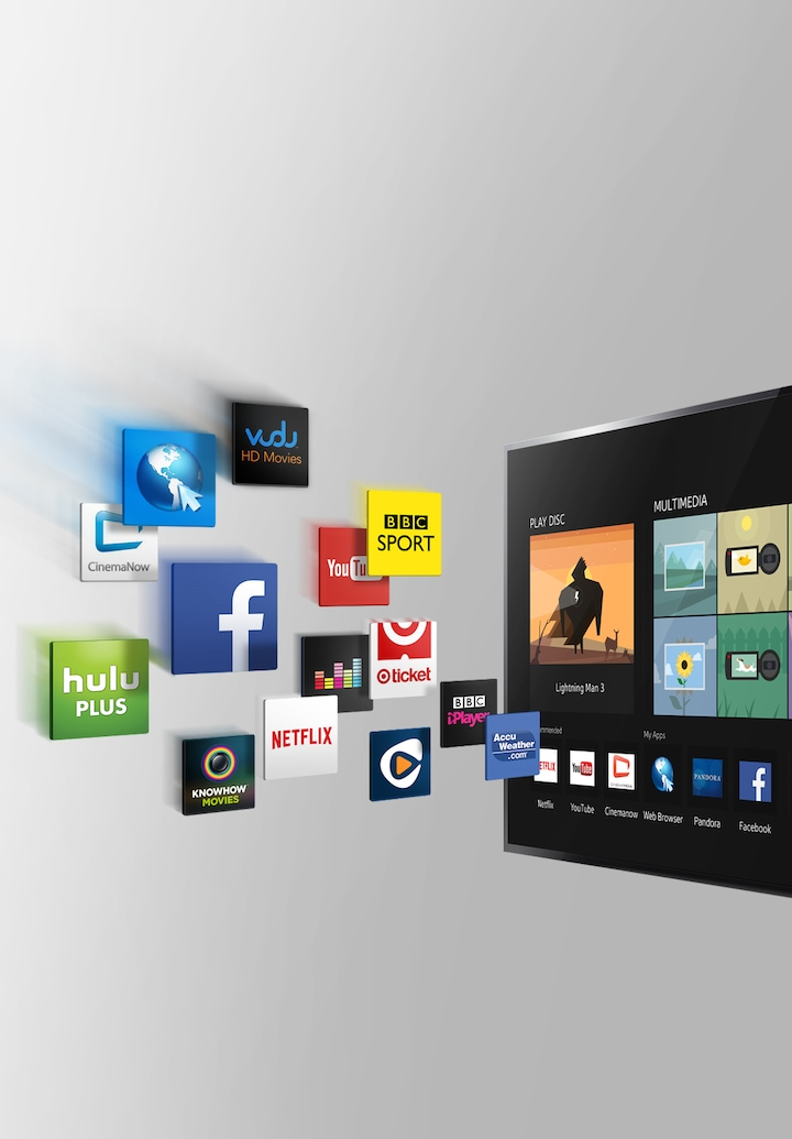 A BDP that brings you Smart TV capabilities