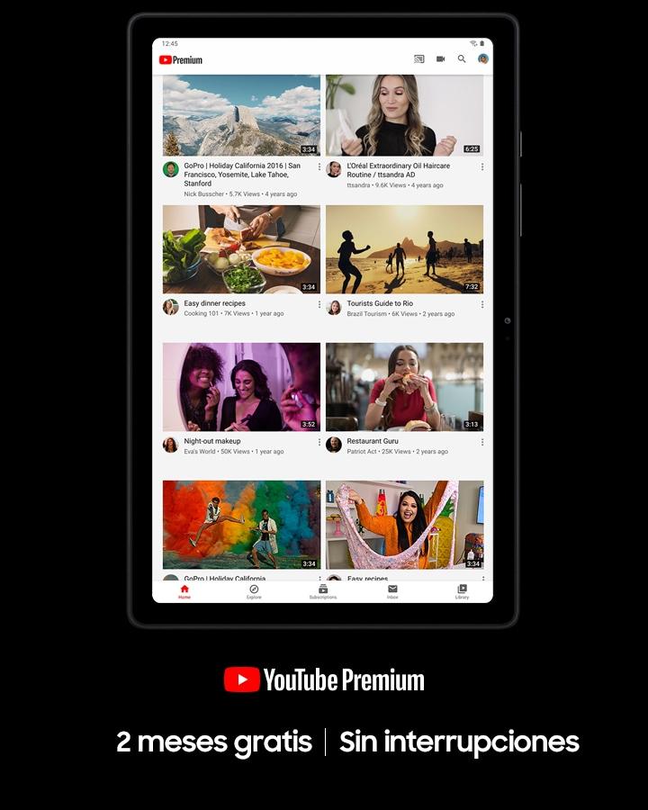 Enjoy YouTube Premium
