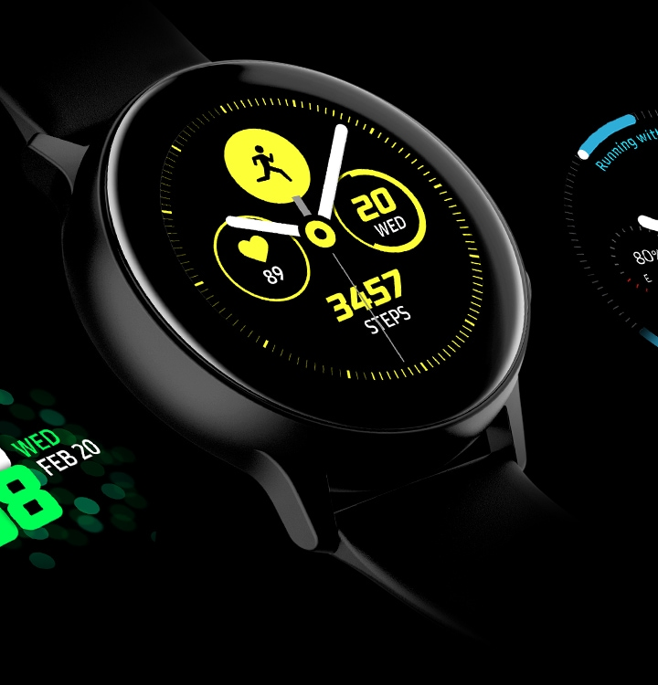 Galaxy Watch Active tiene diferentes esferas personalizables