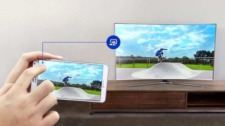 Sincroniza tu smartphone con tu Smart TV