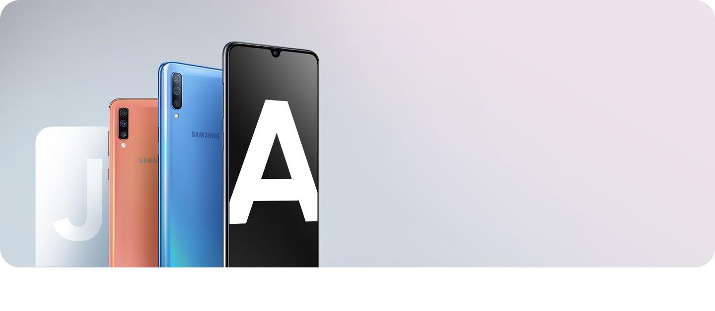 Actualiza ahora tu Galaxy J con nuestros nuevos Smartphones Galaxy A