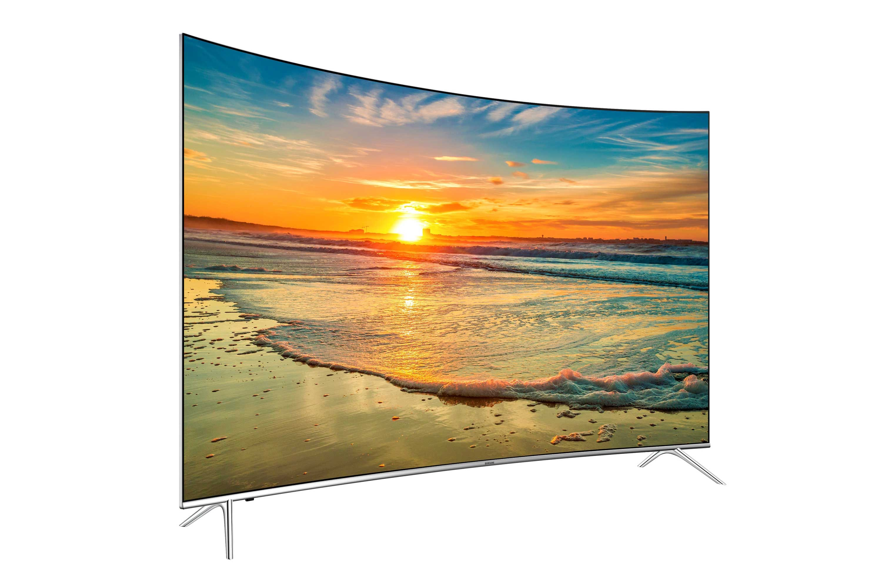 "TV 123 cm (49"") SUHD 4K Curvo Smart TV Serie KS7500 con HDR 1000"