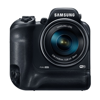 SAMSUNG WB2200F Frontal Negro
