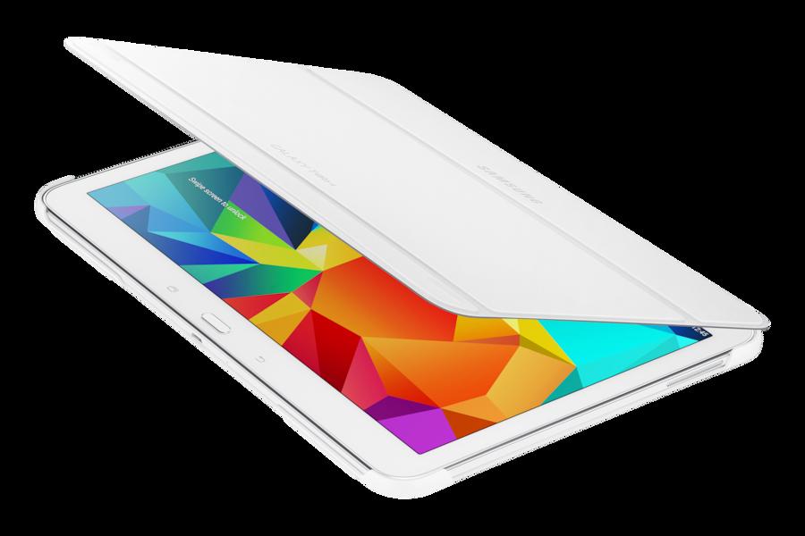 Galaxy Tab 4 10.1 Book Cover BT530B Dinámico Blanco