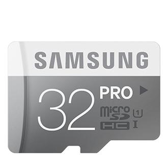 Tarjeta microSDHC PRO 32 GB (Adaptador tarjetas SD)