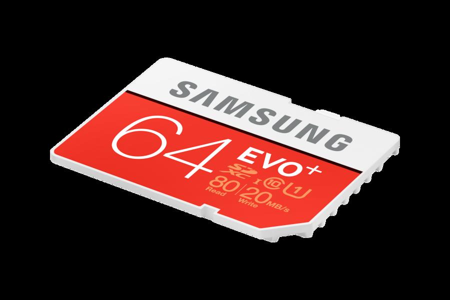 Tarjeta SD EVO Plus SC64D Dynamic red
