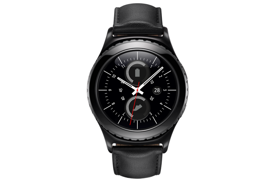 Gear S2 classic R732 Frontal Negro