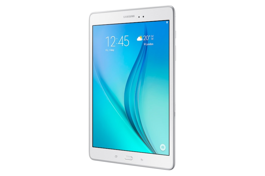 Galaxy Tab A (9.7, Wi-Fi) T550 R Perspective White