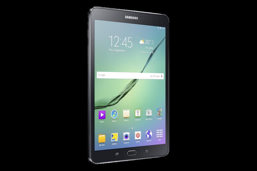 Galaxy Tab S2 (8.0, Wi-Fi) T710 L Perspective Black