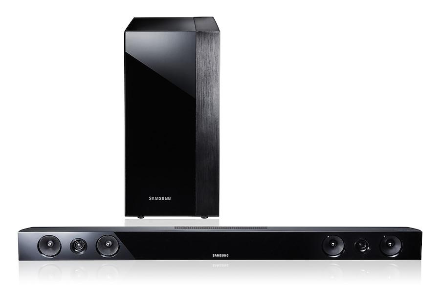 HW-E450 Etuosa Musta