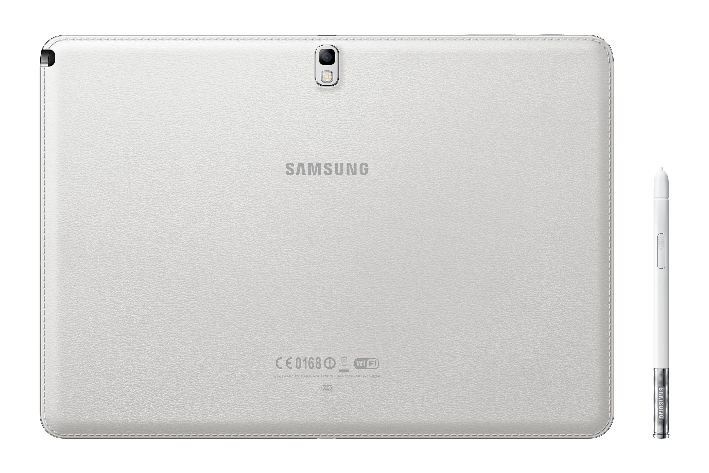 SM-P600 Takaosa Valkoinen