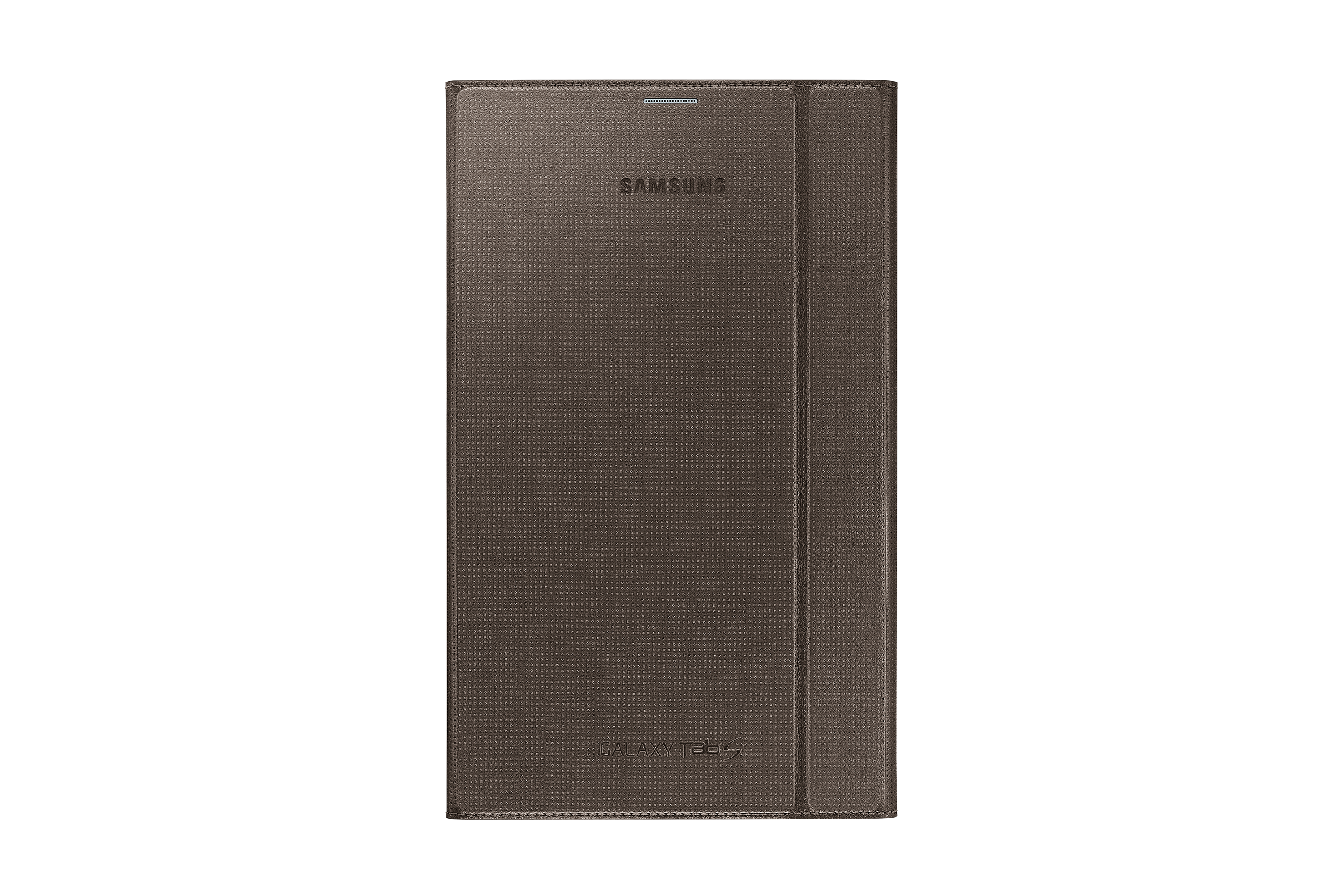 "Book Cover Bronze titanium pour Galaxy Tab S (8.4"")"
