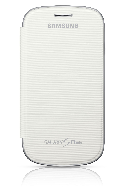 Etui à rabat Blanc - Galaxy SIII mini