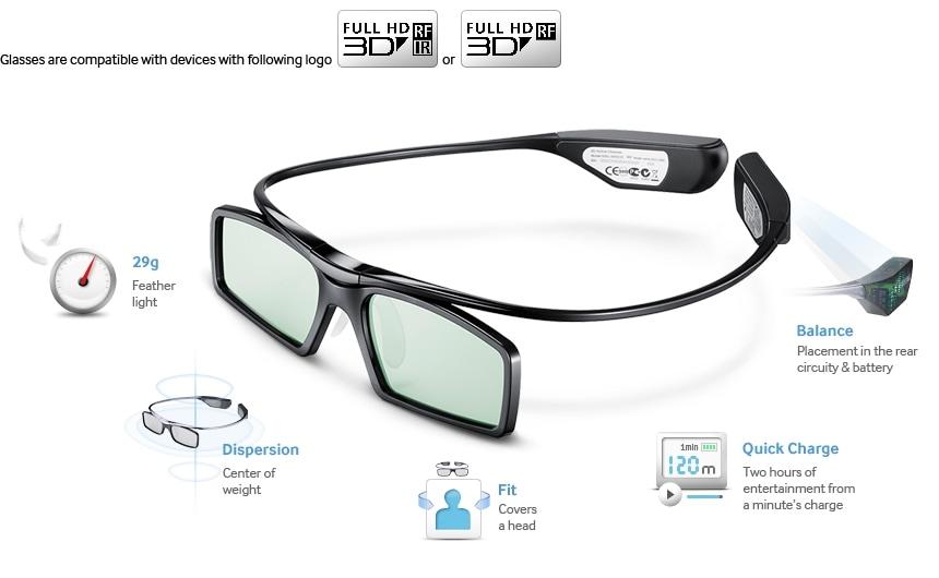 Des lunettes 3D au design léger et épuré