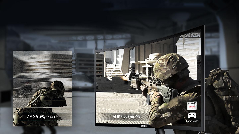 Une expérience de jeu fluide et sans ralentissement grâce à la technologie AMD FreeSync