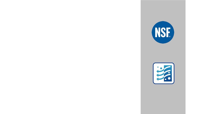 Un filtre testé et certifié par NSF International