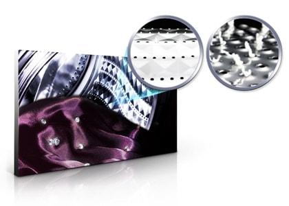 Tambour Crystal Care. Des fibres préservées plus longtemps