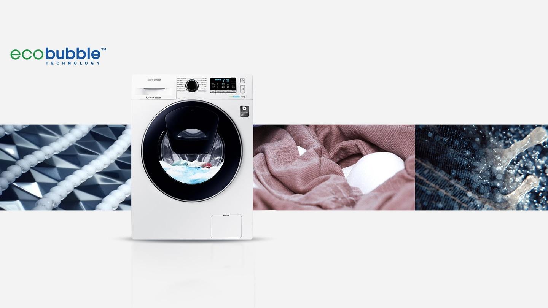 Technologie Eco Bubble TM: Libérez-vous des températures de lavage!