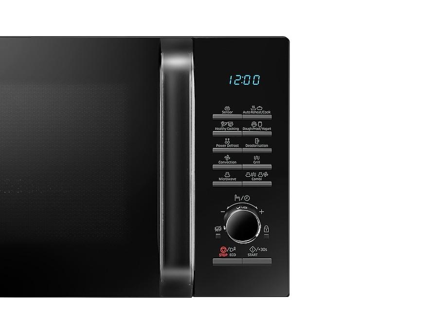 966f821116b029 Micro-ondes combiné avec capteur Smart Sense, 28L, Noir   Samsung FR