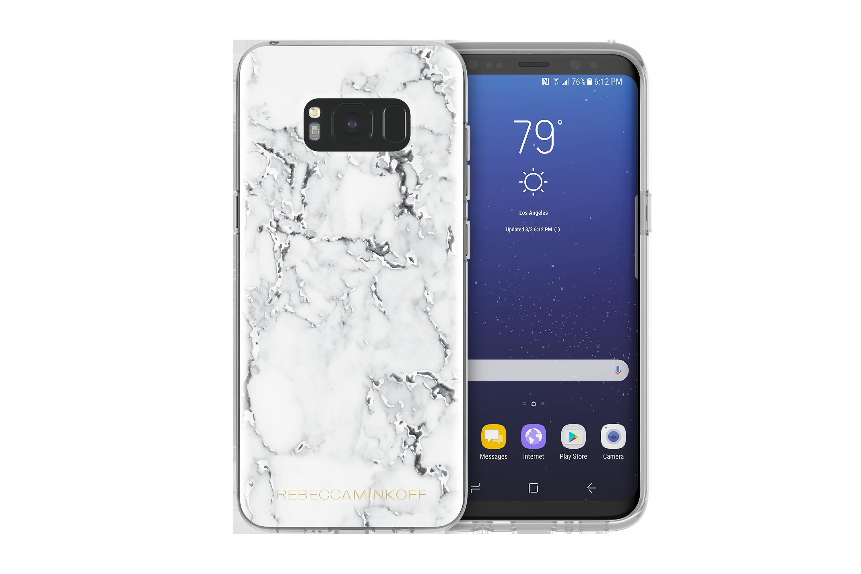 Coque Arrière Motif Marbre Rebecca Minkoff pour Samsung Galaxy S8