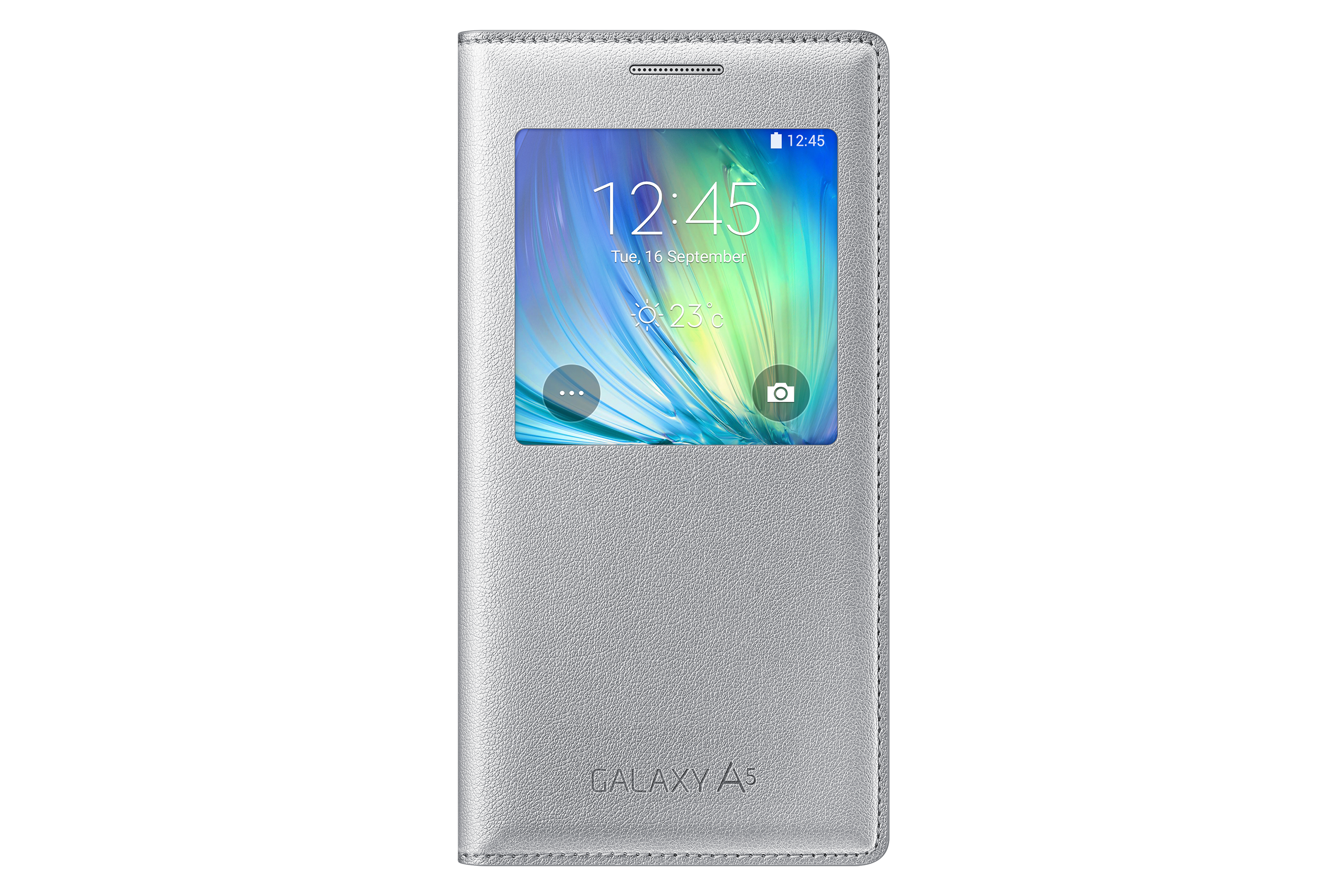 S View Cover Argent - Galaxy A5