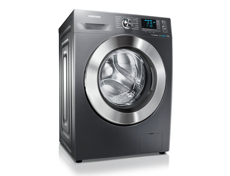 lave linge eco bubble metal grey 7kg wf70f5e5w4x samsung. Black Bedroom Furniture Sets. Home Design Ideas