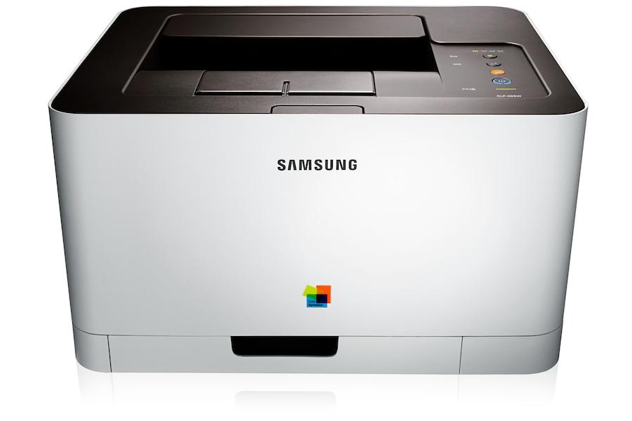 Imprimantes Laser  Couleur CLP-365W 365W Avant Blanc