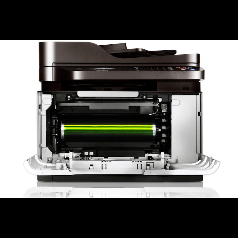 Multifonctions Laser  Couleur CLX-3305FW 3305FW Avant ouvert Blanc
