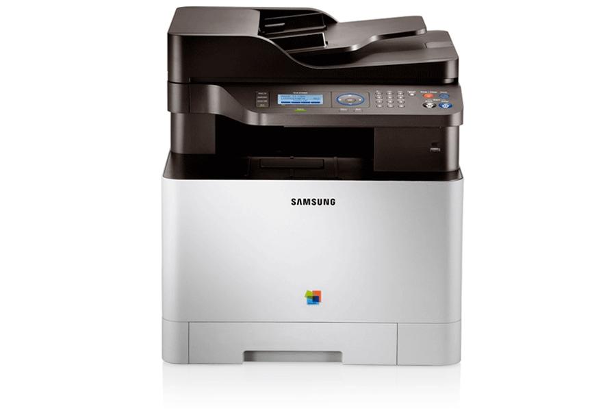 CLX-4195N Multifonction Laser Couleur (18/18 ppm) 4195N Avant Argent