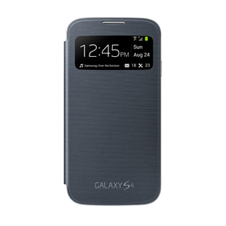 S View Cover Noir - Galaxy S4