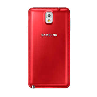 Coque arrière Rouge - Galaxy Note 3