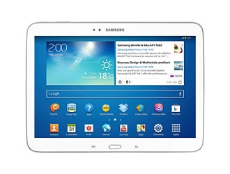tablette galaxy tab 3 10 1 pouces wi fi blanche gtp5210 samsung. Black Bedroom Furniture Sets. Home Design Ideas
