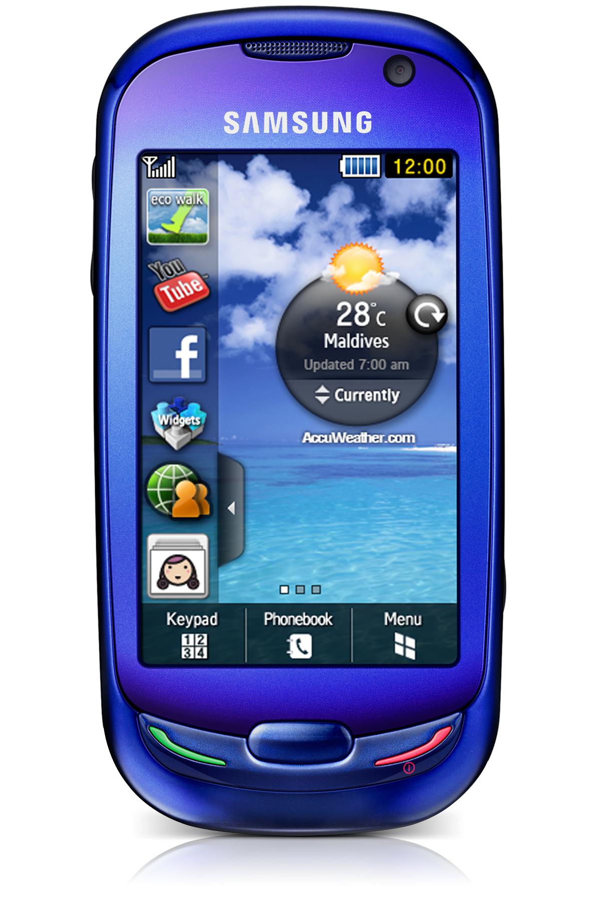 Samsung Blue Earth bleu - Open market