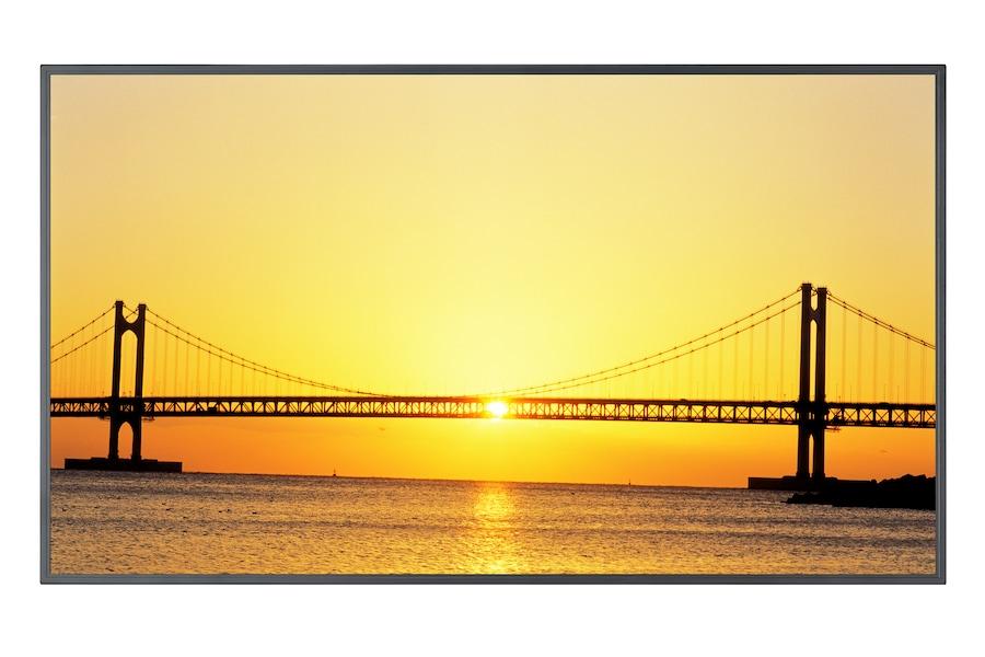 46'' Moniteur LCD  460UX-3 mur d'images + PC 3 Avant