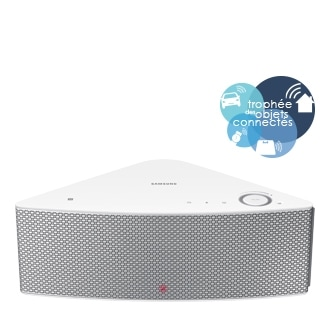 Enceinte sans fil  M5 Blanche, Multiroom , Wi-Fi, Bluetooth - WAM 551