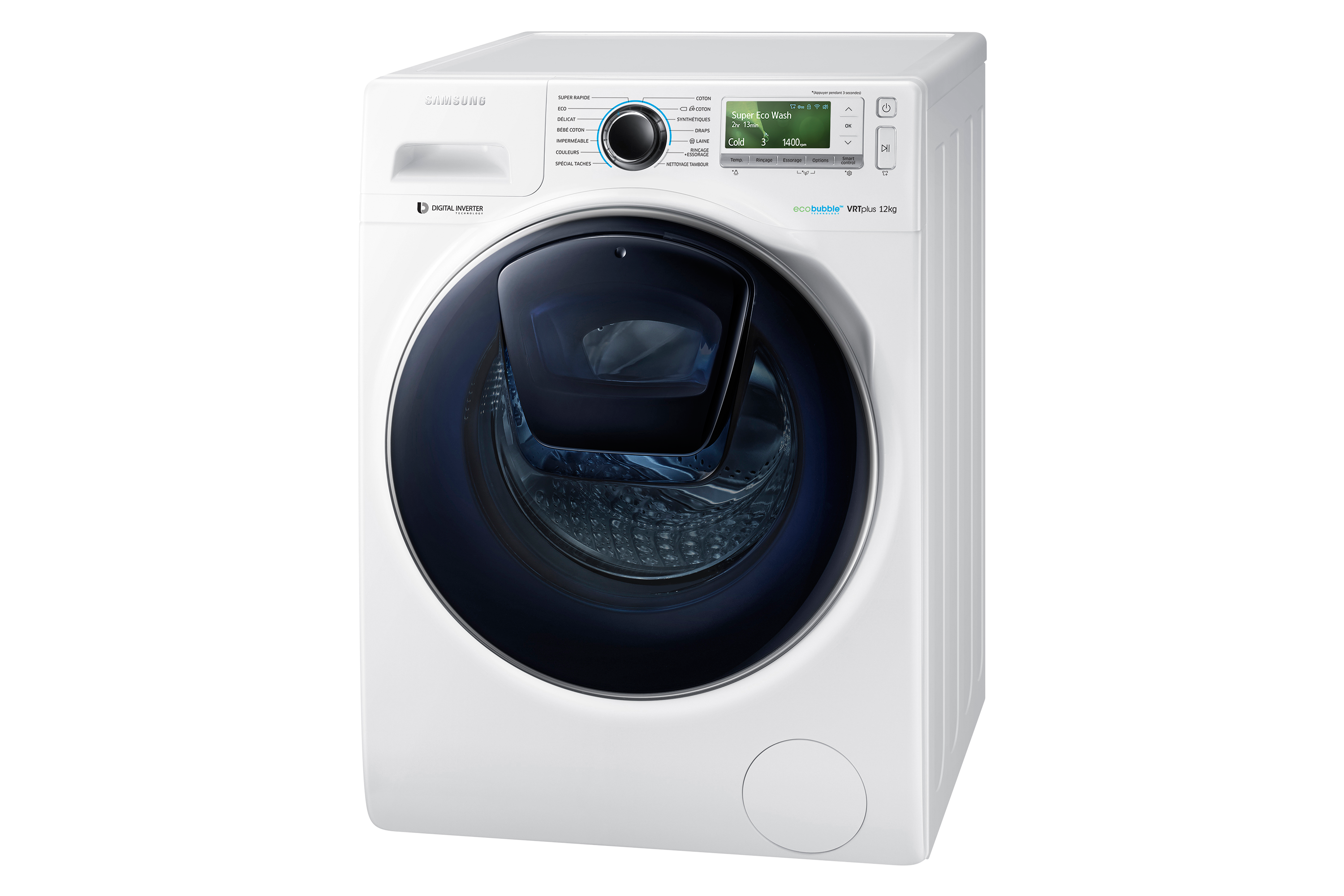 lave linge connect addwash 12 kg ww12k8412ow samsung. Black Bedroom Furniture Sets. Home Design Ideas