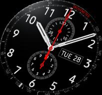Chronograf+ Gear S3 wraz z funkcją Always-On-Display